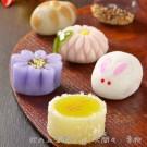 秋の上生菓子正方形