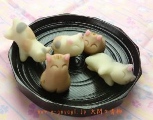 猫和菓子1