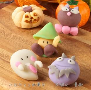 ハロウィン和菓子正方形
